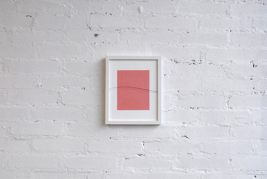 decay, 2014, wooden frame, Mirogard® UV Plus glass, blotting paper 24 × 30 cm edition of 5 unicums & 1 a.p. © Photo: the artist