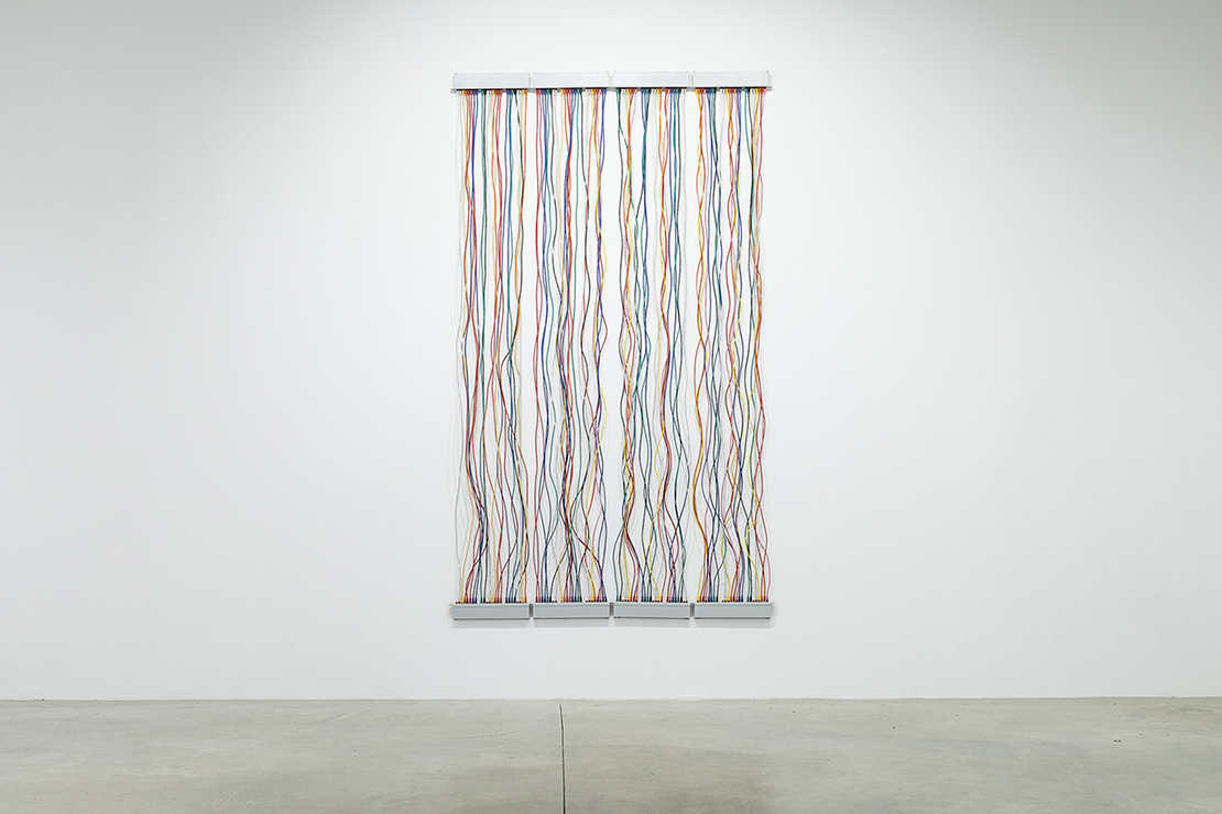 luxartcontemporary_salimuller_network_patch-panels-network-cables_200x300cm_2015