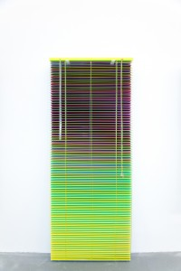 luxartcontemporary_salimuller_the-moment-in-a-window-of-time_stacked-venetian-blinds_2016-2
