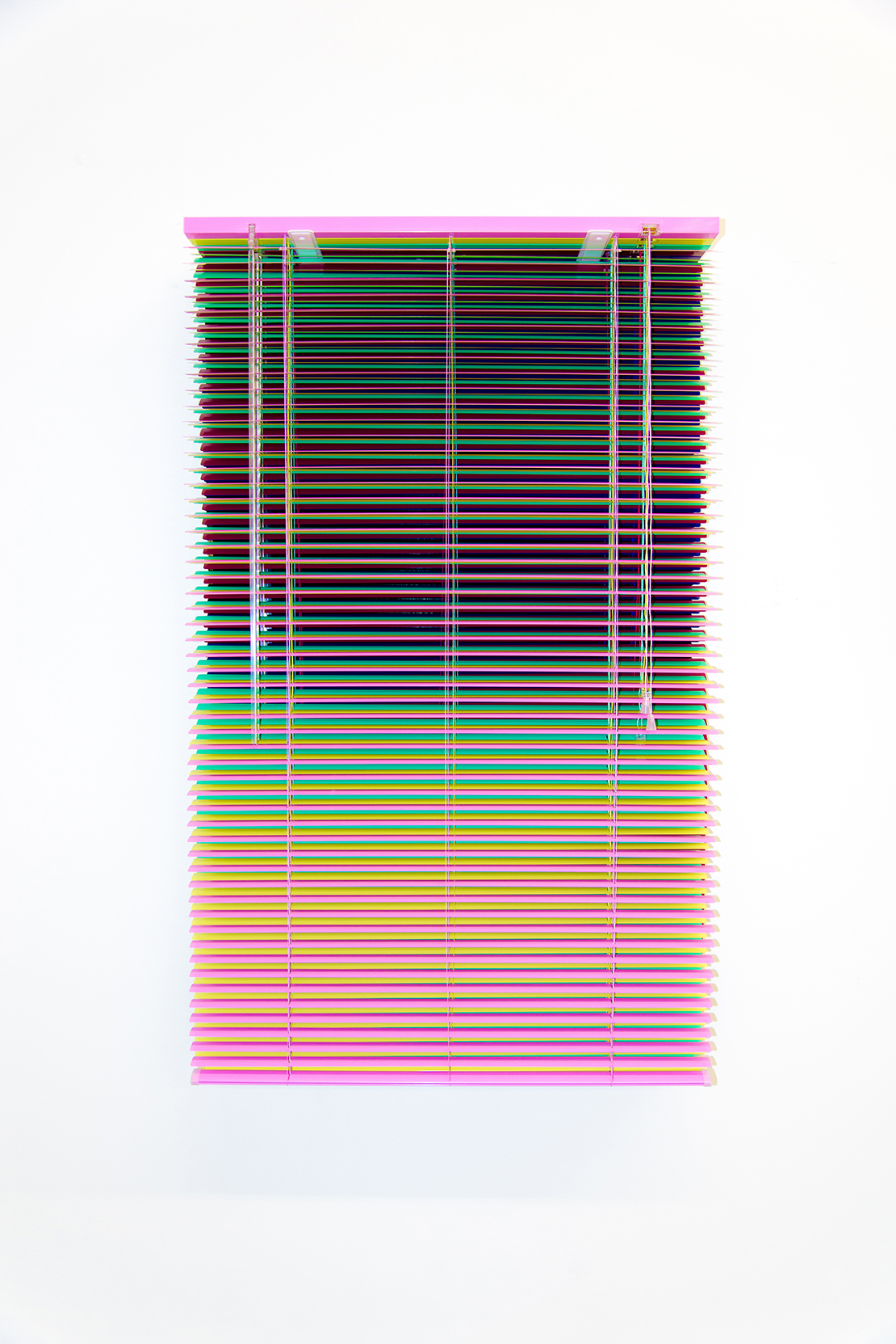 luxartcontemporary_salimuller_the-moment-in-a-window-of-time_stacked-venetian-blinds_2016